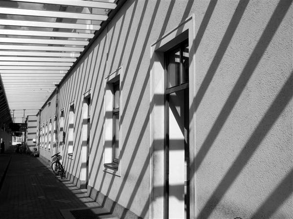 House Wall with Shadow