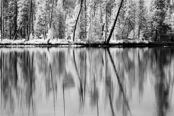 Reflections in Infrared