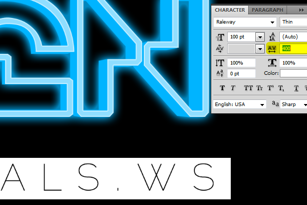 How to Create Glowing TRON-Inspired 3D Text in Photoshop Extended Image_34