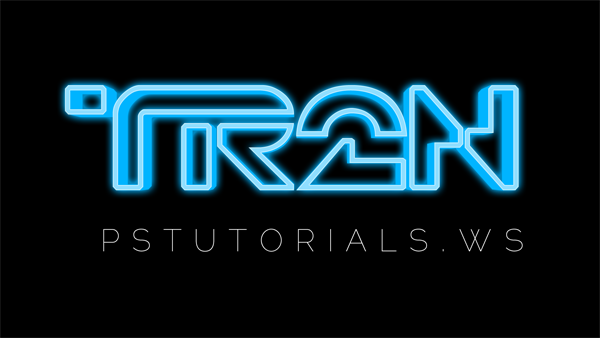 How to Create Glowing TRON-Inspired 3D Text in Photoshop Extended Image_35