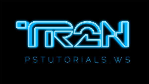 How to Create Glowing TRON-Inspired 3D Text in Photoshop Extended Image_41