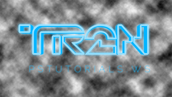 How to Create Glowing TRON-Inspired 3D Text in Photoshop Extended Image_45