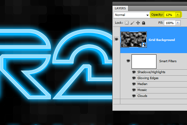 How to Create Glowing TRON-Inspired 3D Text in Photoshop Extended Image_54
