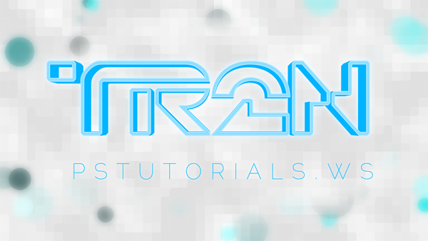 How to Create Glowing TRON-Inspired 3D Text in Photoshop Extended Image_80