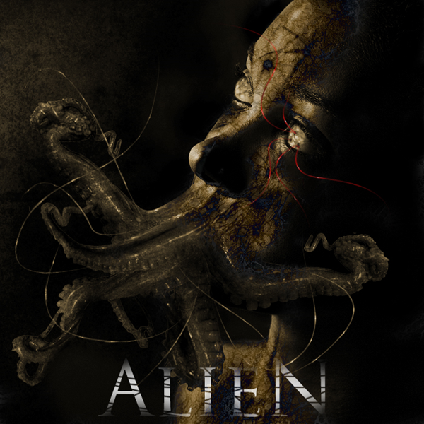 Alien Photo Manipulation Photoshop Tutorial