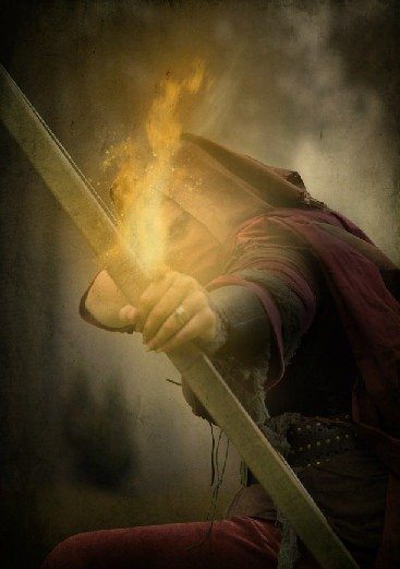 How to Create a Photo Manipulation of an Assassin with a Flaming Arrow in Photoshop Image085
