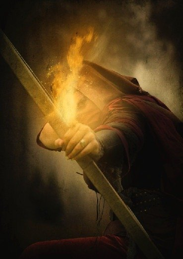 How to Create a Photo Manipulation of an Assassin with a Flaming Arrow in Photoshop Image097