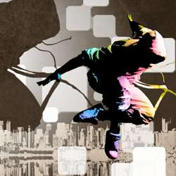 Street Dance Illustration