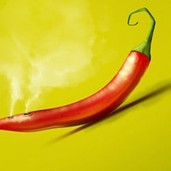 How to Draw a Steaming Hot Chili Pepper in Photoshop