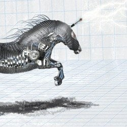 Create an Amazing Mechanical Horse in Photoshop