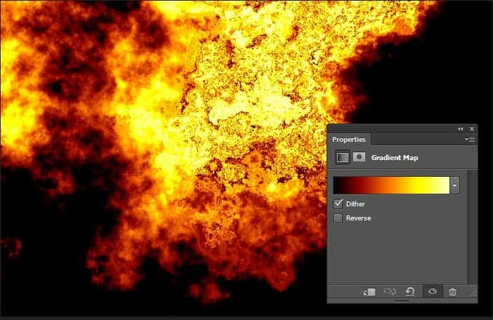 Explosion Gradient Map