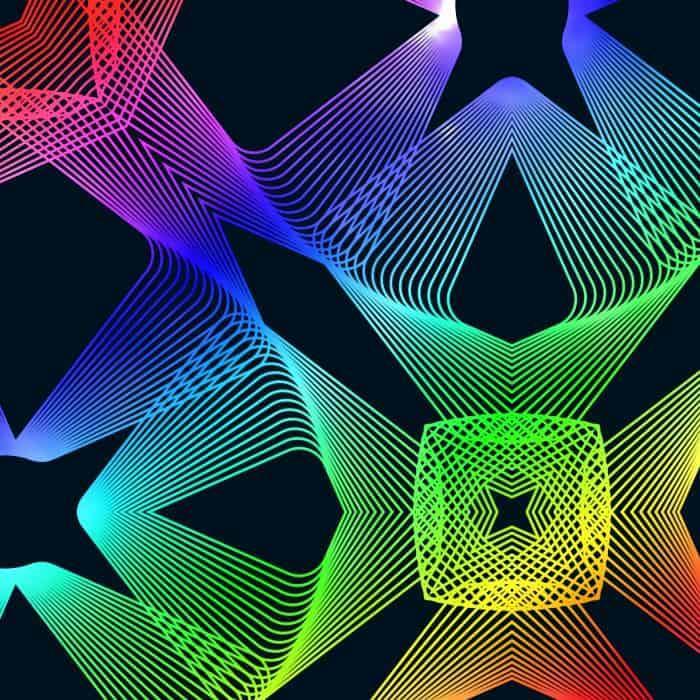 Freebie: 33 Seamless Spirograph Patterns