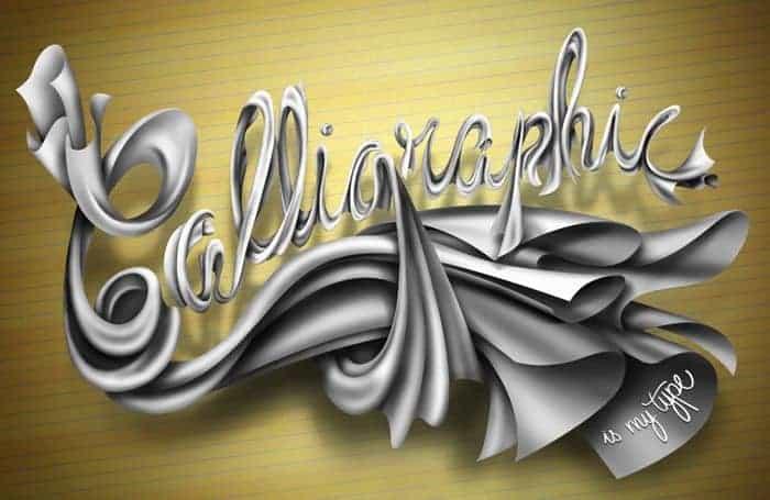 Calligraphic is my Type!