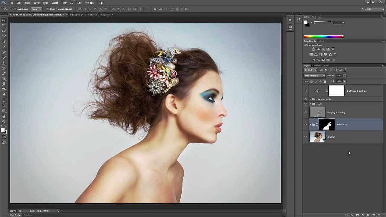 How to Retouch and Airbrush Skin in Photoshop - Photoshop ...