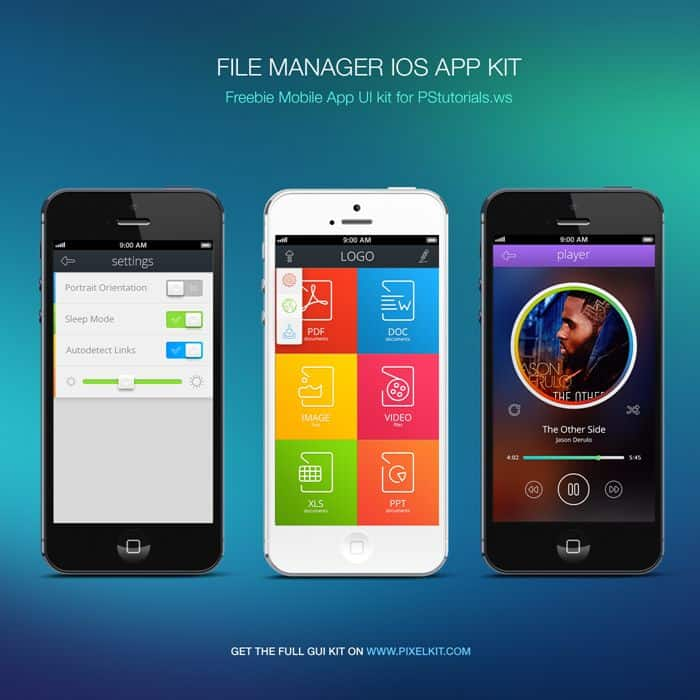 Free Download: File Manager IOS App Kit by PixelKit ...