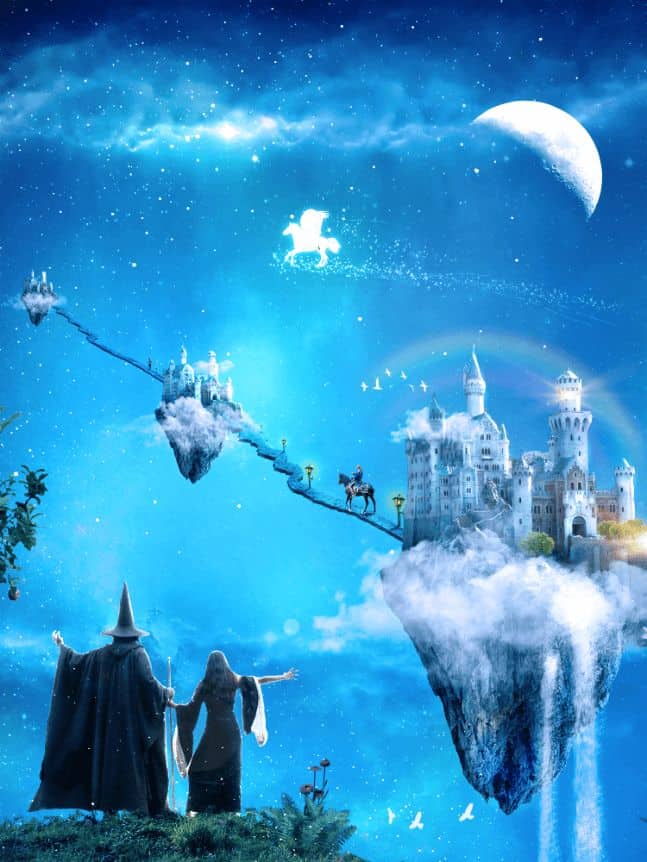 A Wizard and His Pupil - Create a Fairy Tale Manipulation in 75 Steps