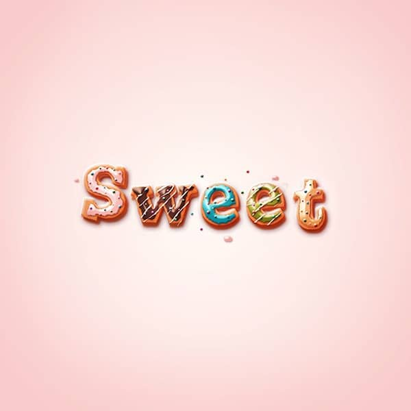 ... Delicious Donut Text That Will Make You Hungry - Photoshop Tutorials