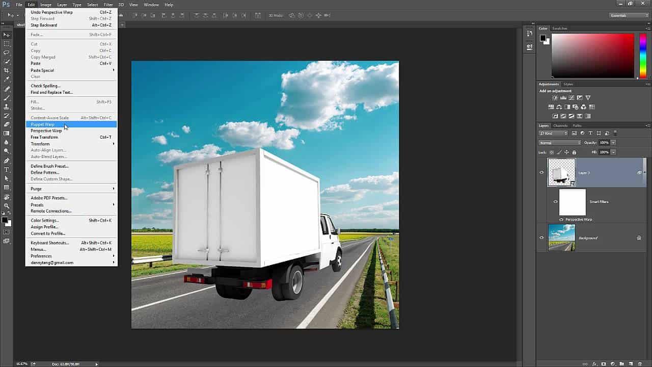 4 useful ways to use perspective warp photoshop tutorials baditri Image collections