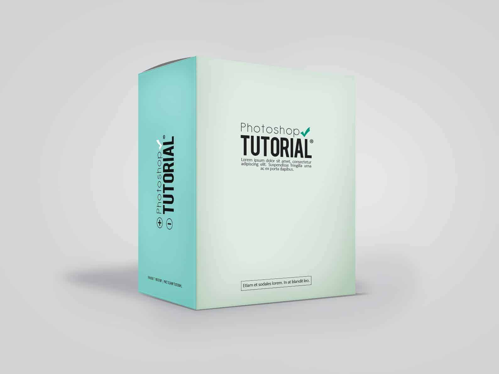 How to Create Your Own Product Mockup Box in Photoshop