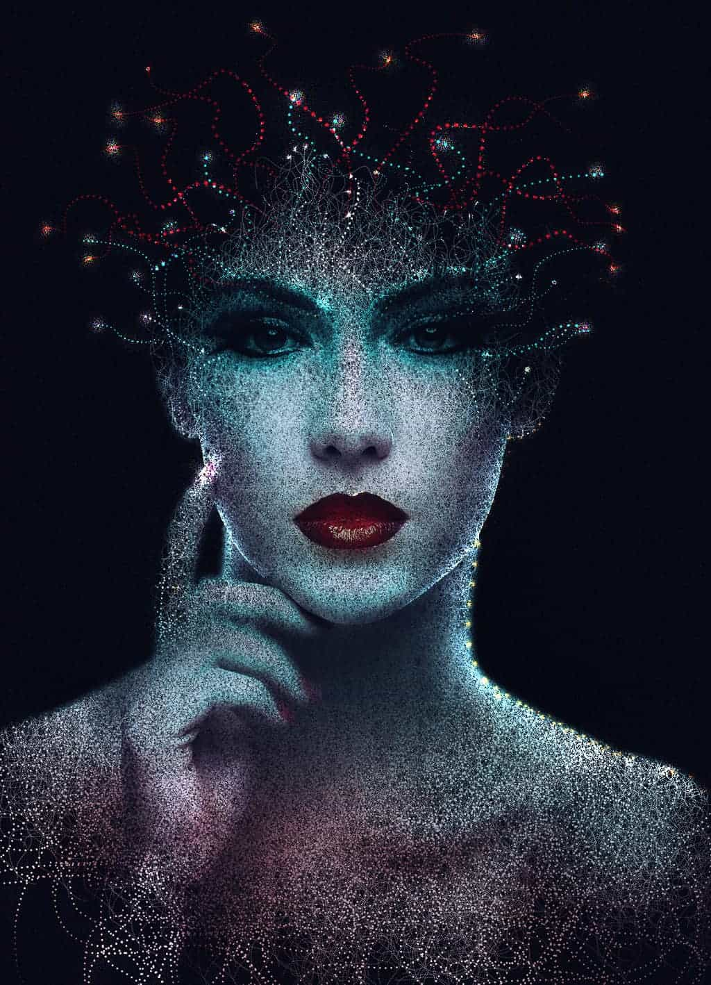 Create an Abstract Portrait in Photoshop