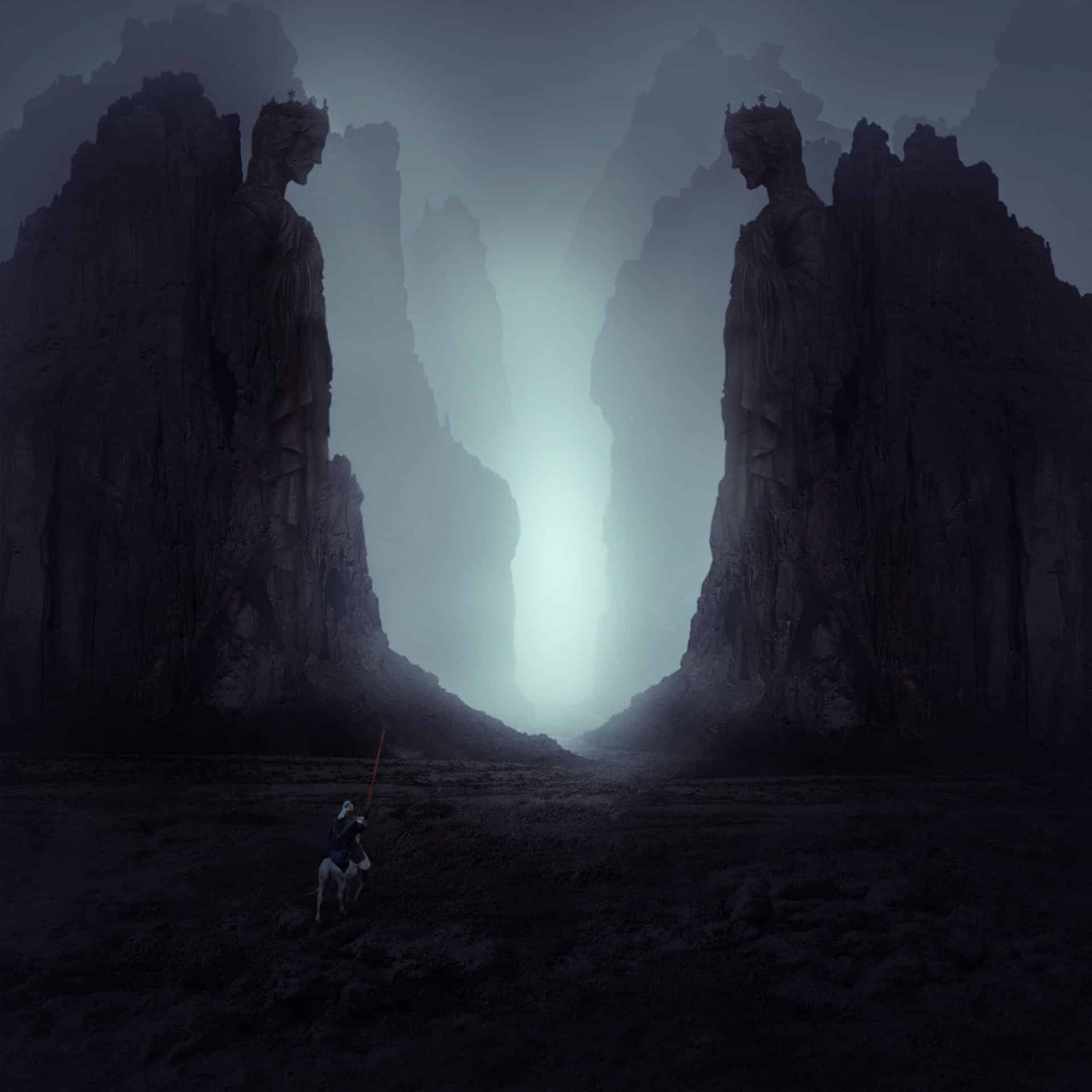 Create a Dark and Mysterious Landscape Matte Painting with Photoshop