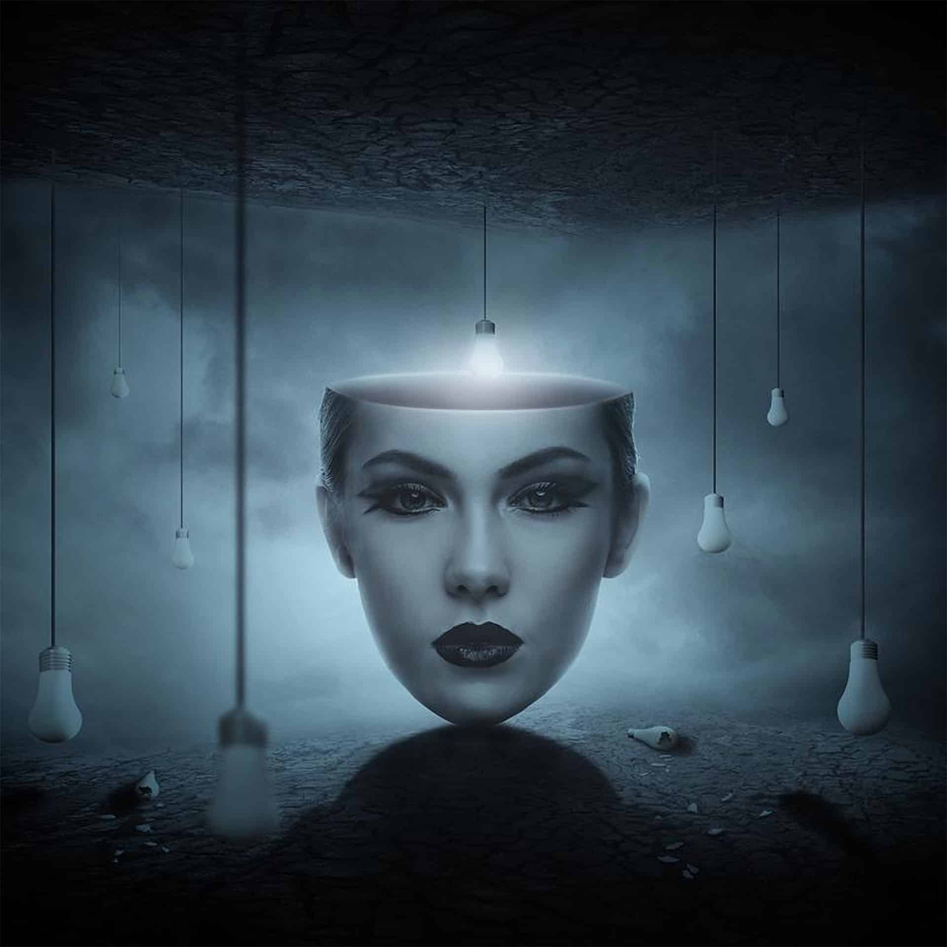 How to Create a Surreal, Conceptual Head Photo Manipulation with Photoshop