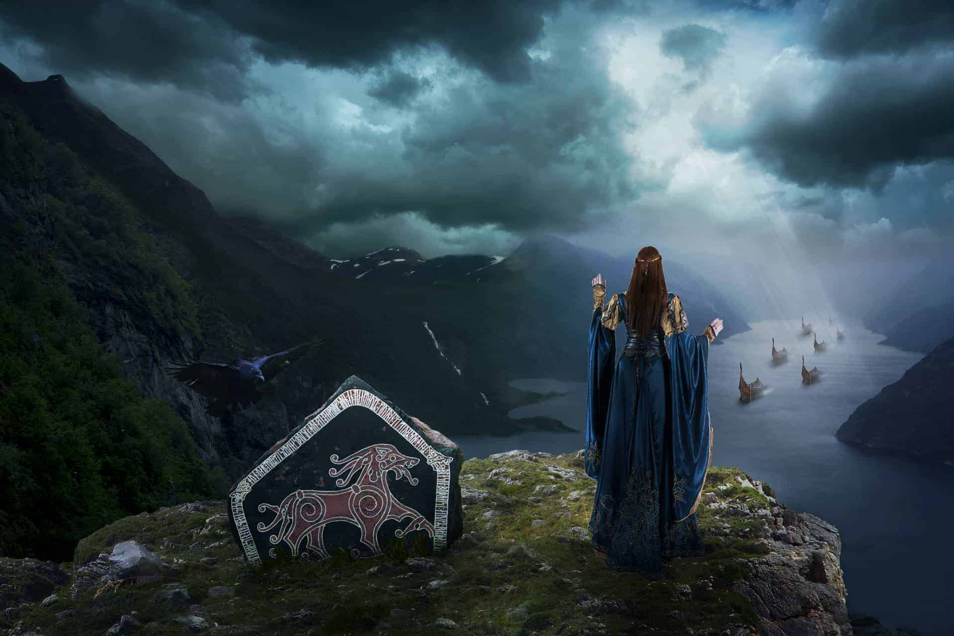 Create This Epic Manipulation of Ancient Scandinavians in Photoshop