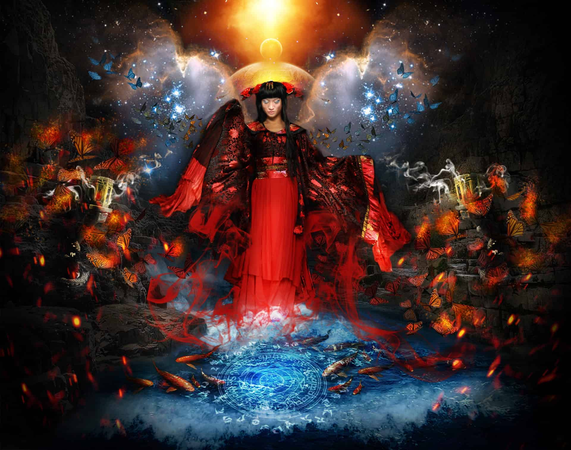 How to Create This Amazing Artwork of a Great Enchantress in Photoshop