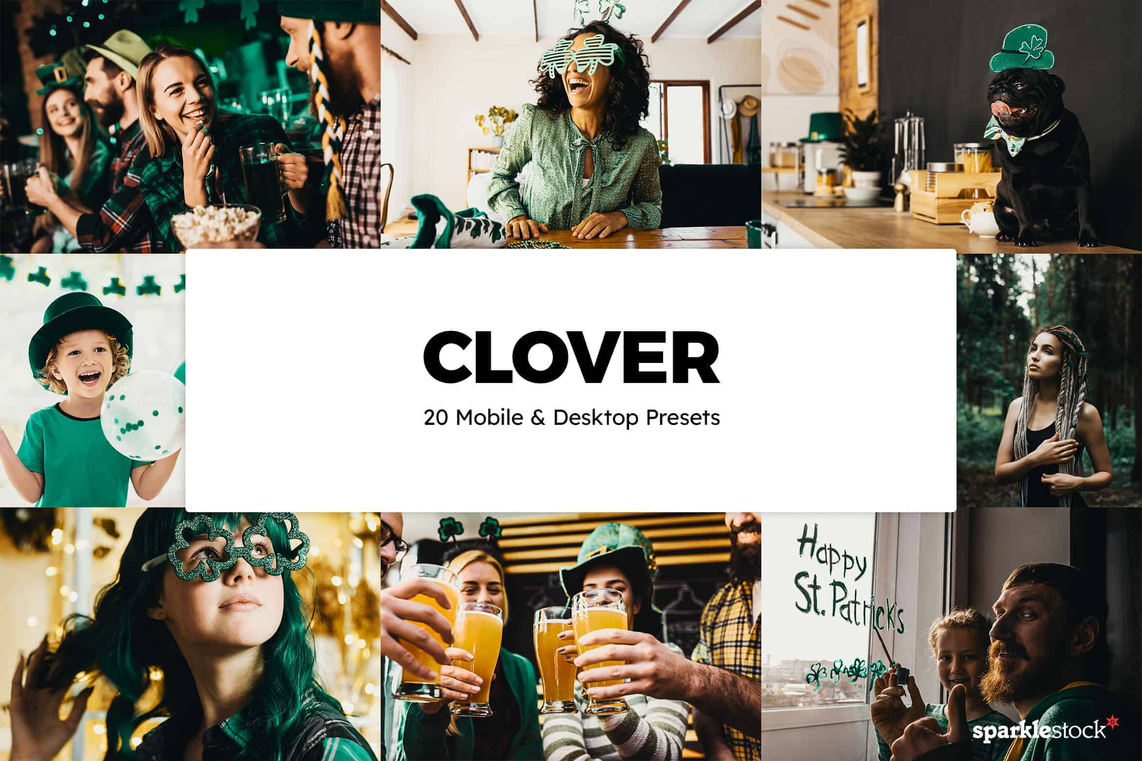 8 Free St. Patrick's Day Lightroom Presets and LUTs
