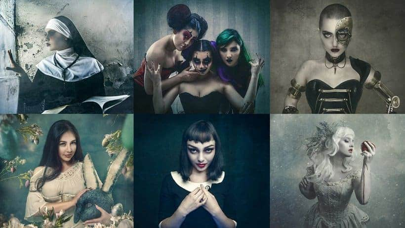 Dark Conceptual Portraits Course (71% Off)
