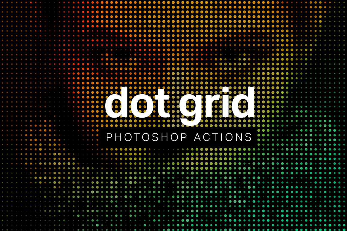 Create Dot Grid Art in 1 Click