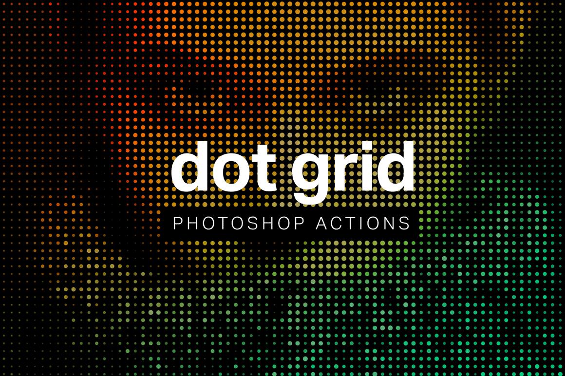 Create Dot Grid Art in 1 Click