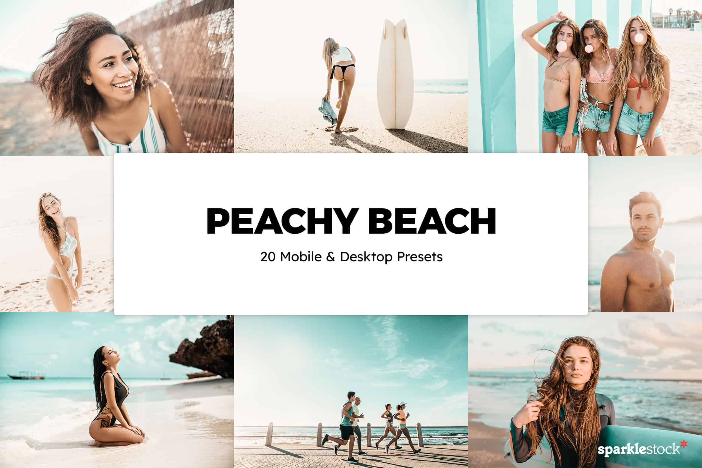 8 Free Peachy Beach Lightroom Presets and LUTs