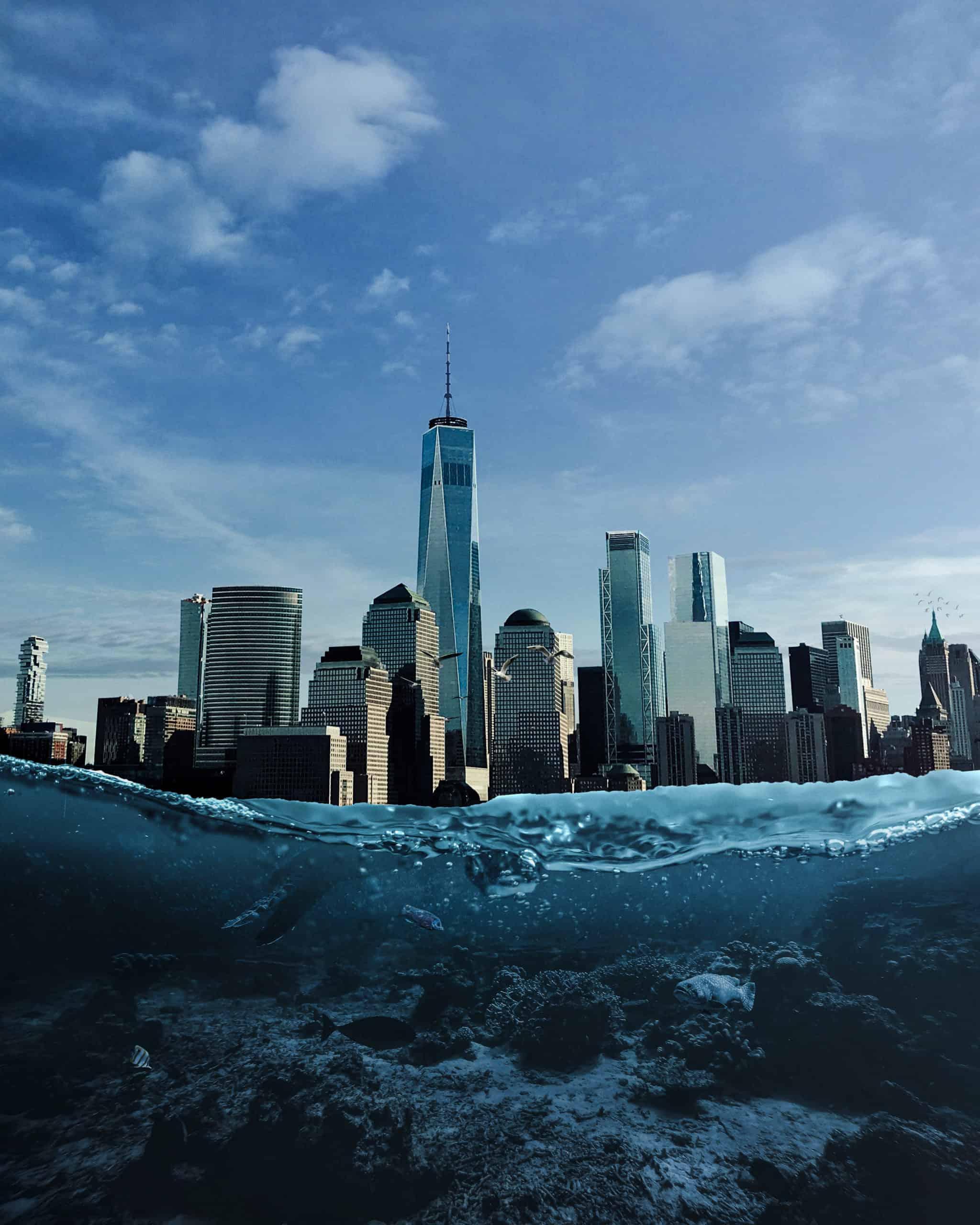 Create Underwater Atlantic City Photomanipulation