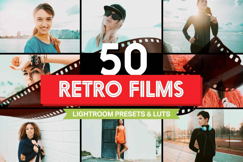 10 Retro Film Lightroom Mobile Presets and LUTs