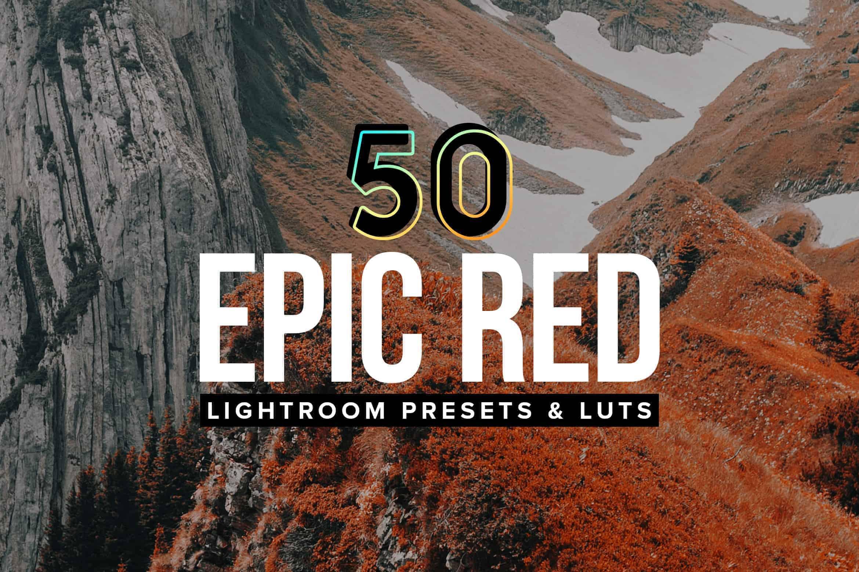 Free: 10 Epic Red Lightroom Mobile and Desktop Presets