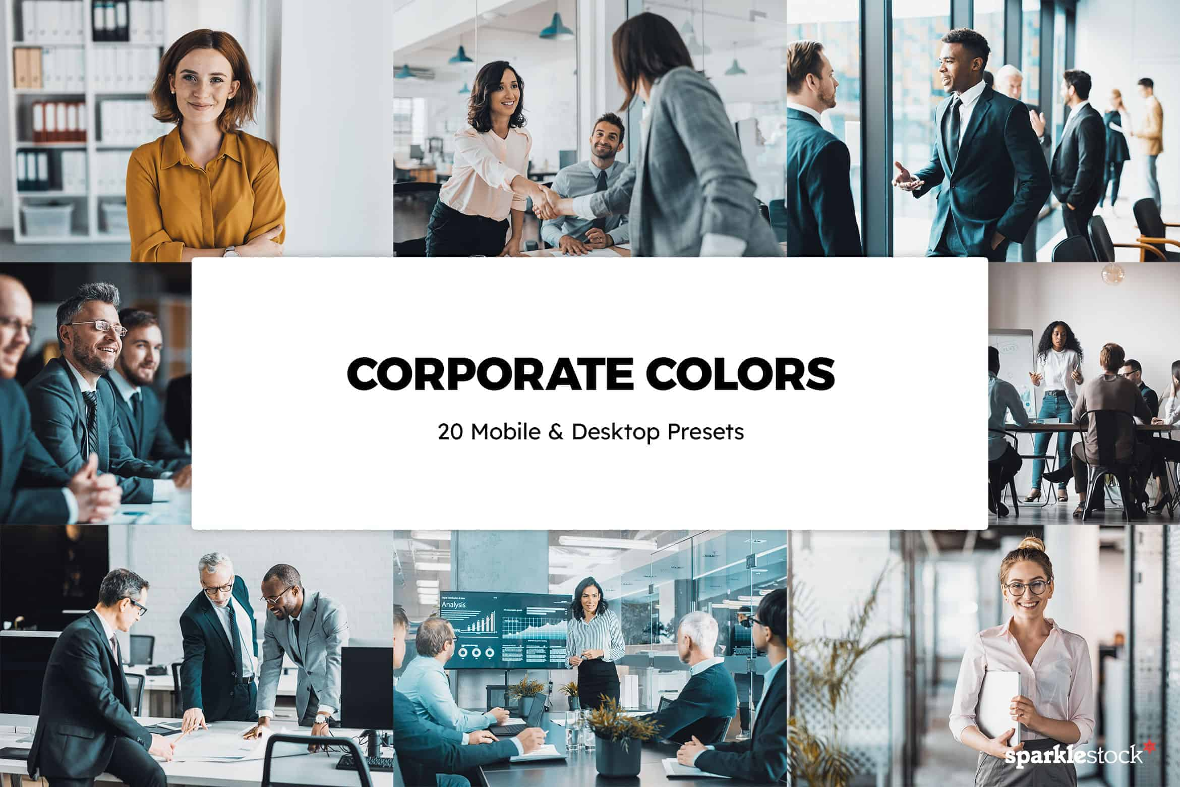 8 Free Corporate Colors Lightroom Presets and LUTs