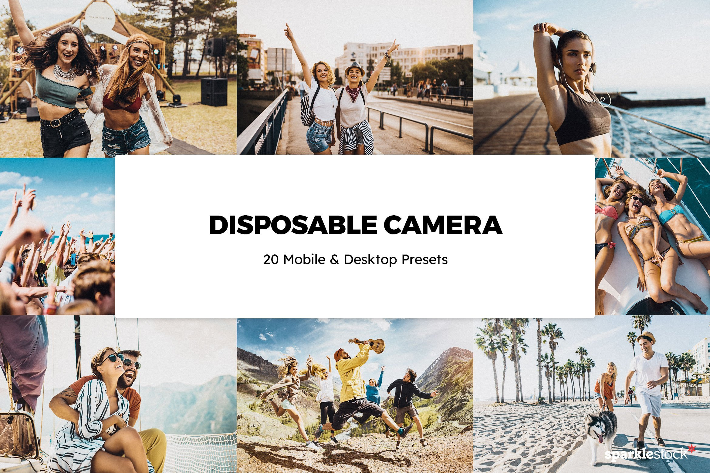 8 Free Disposable Camera Lightroom Presets and LUTs